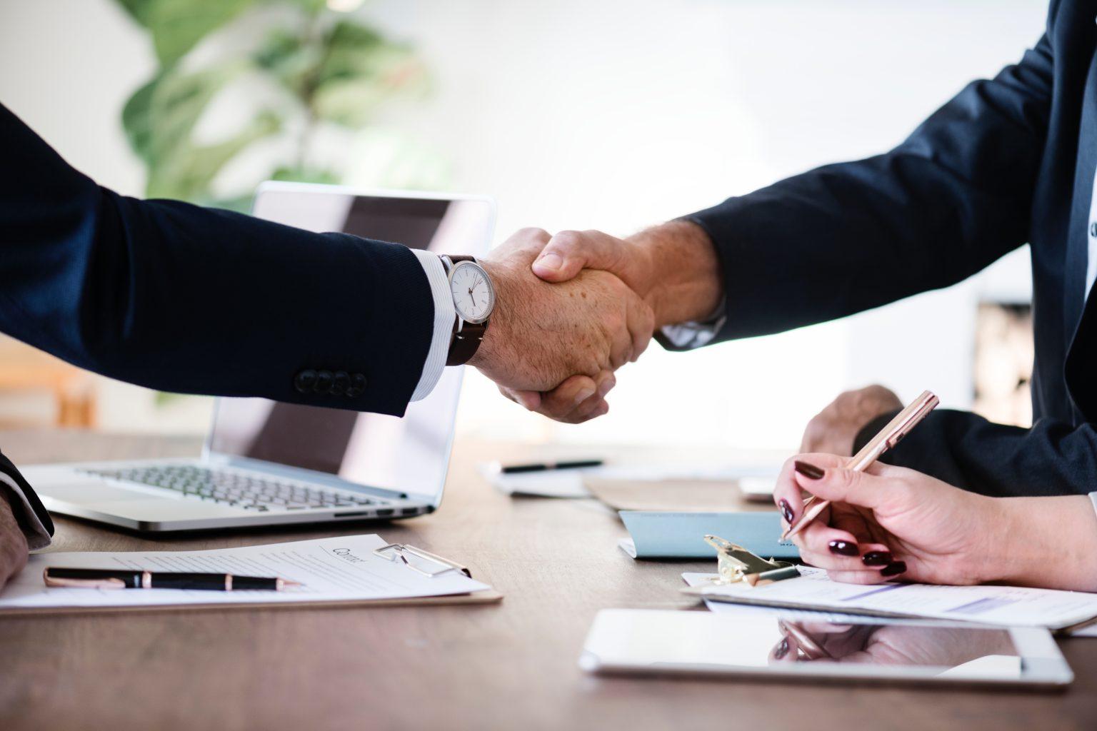 shake hands deal