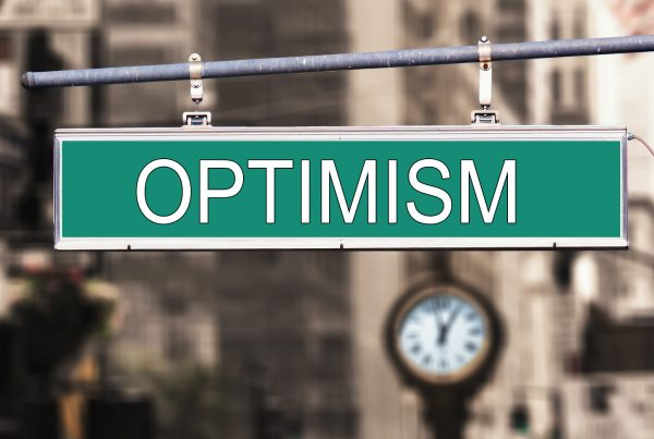 sign with optimism